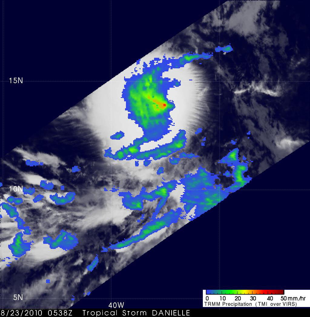 Tropical Storm Danielle - related image preview