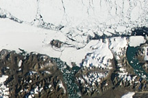 Breakup on the Ward Hunt Ice Shelf