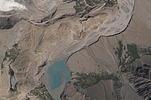 Landslide Lake in Northwest Pakistan - selected image