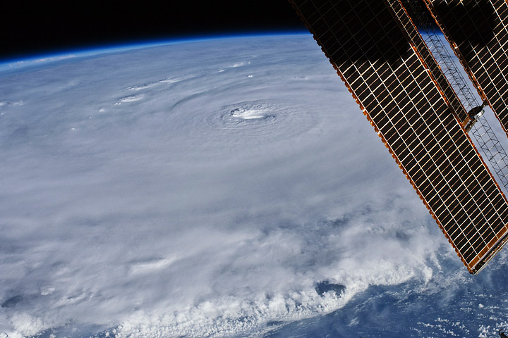 Hurricane Earl - The Astronaut View