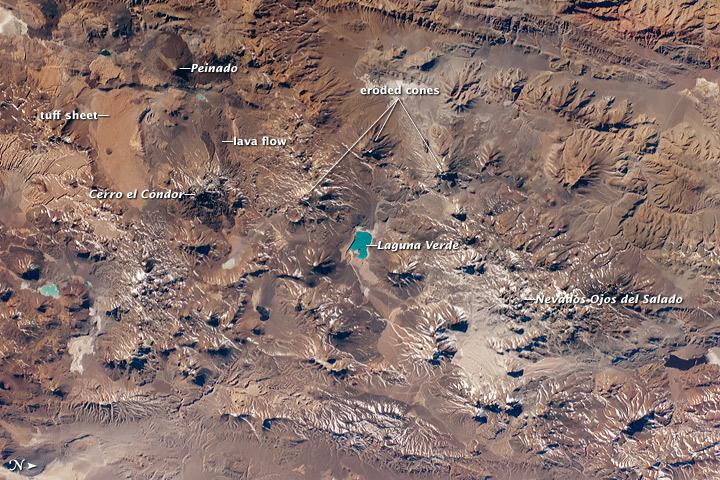 Volcanic Landscapes, Central Andes