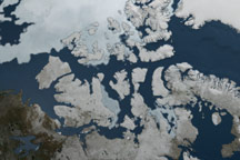 Microwave Sea Ice