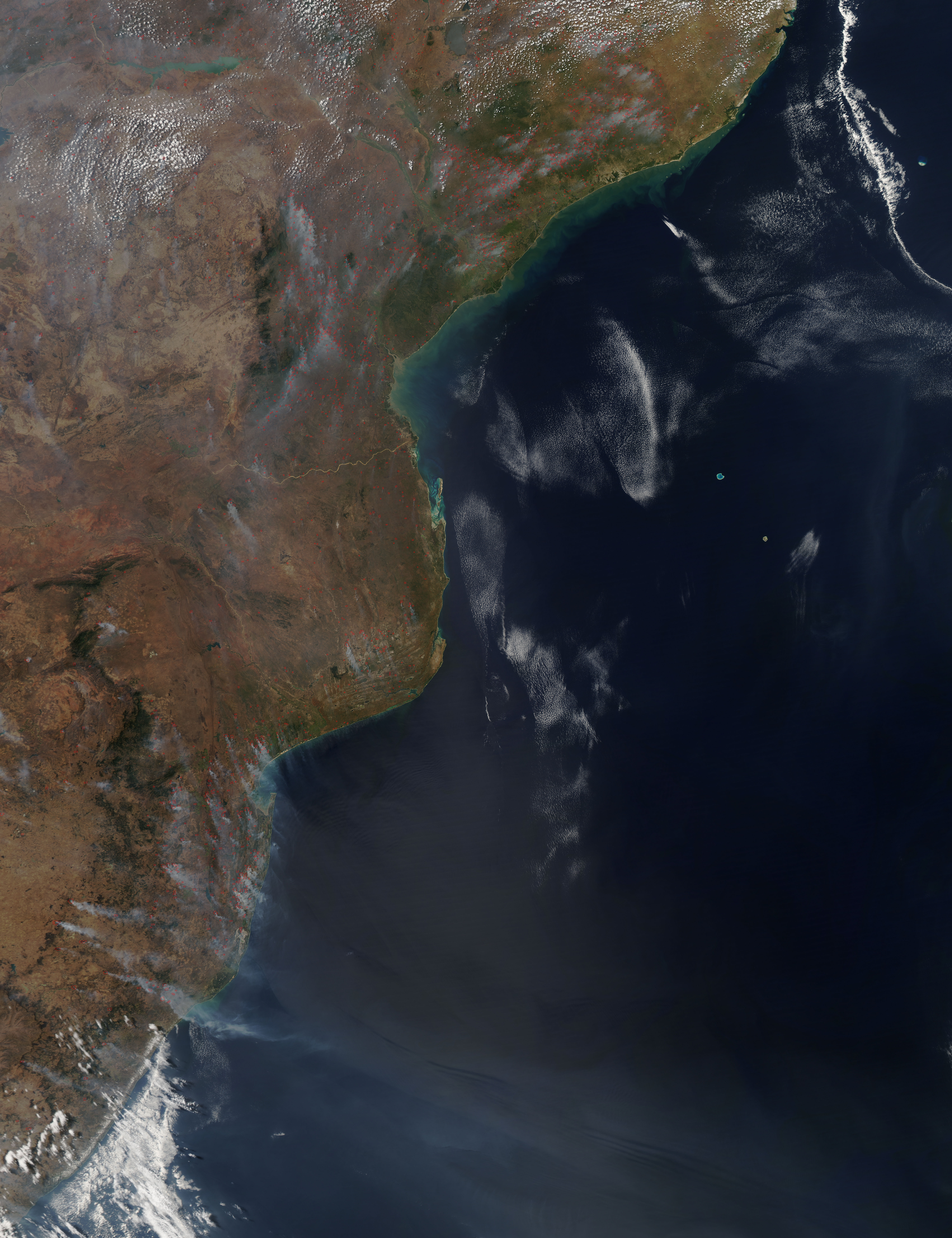 Seasonal Fires in Southern Africa - related image preview