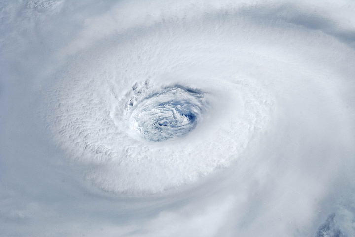 Hurricane Igor from the Space Station