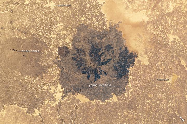 Es Safa Volcanic Field, Syria