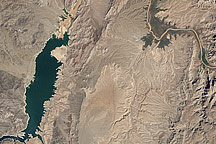 Water Level Changes in Lake Mead - selected image