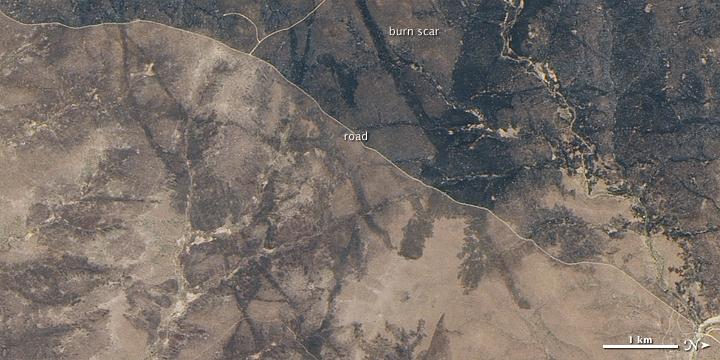 Fires in Southern Kruger National Park