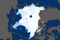 Arctic Sea Ice Minimum for 2010