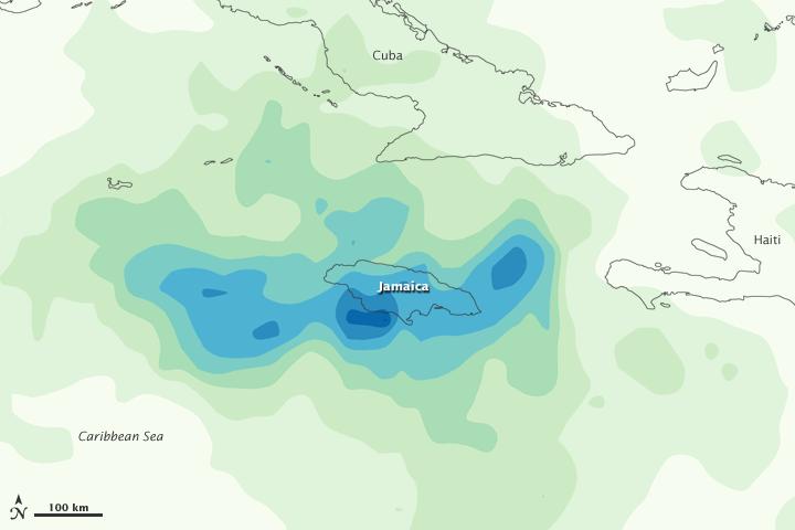 Heavy Rains in Jamaica