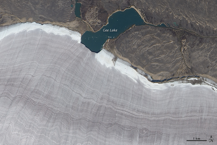Barnes Ice Cap, Baffin Island, Canada