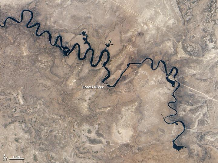 Boteti River, Botswana