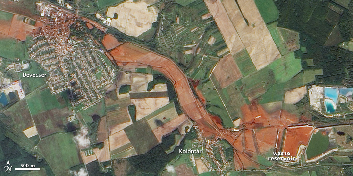 Toxic Sludge in Hungary