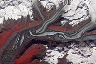 Susitna Glacier, Alaska