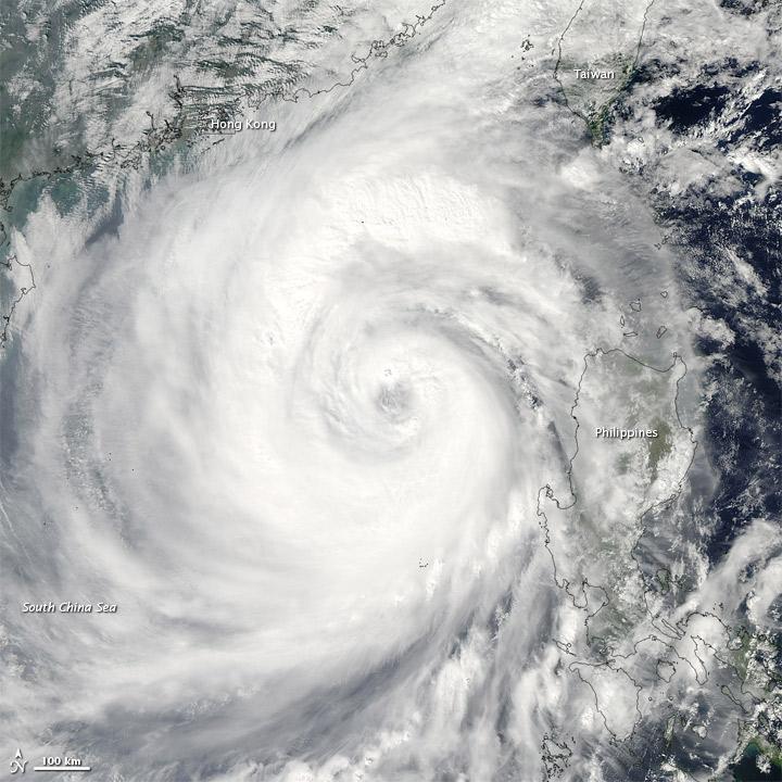 Typhoon Megi