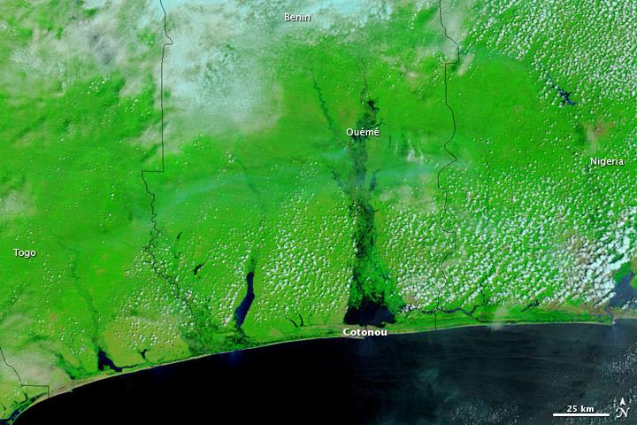 Flooding in Benin