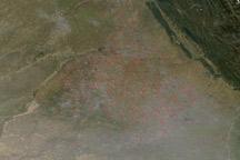 Fires in Northwest India