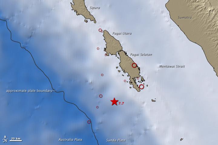 7.7 Magnitude Quake off Sumatra