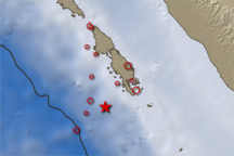 7.7 Magnitude Quake off Sumatra - selected image
