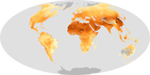 Global View of Fine Aerosol Particles