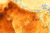 Seasonal Changes in Indian Aerosols