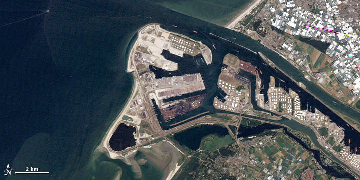 Land Reclamation at Rotterdam - related image preview