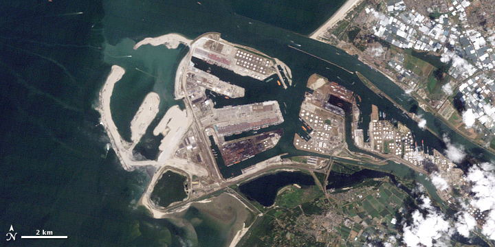 Land Reclamation at Rotterdam
