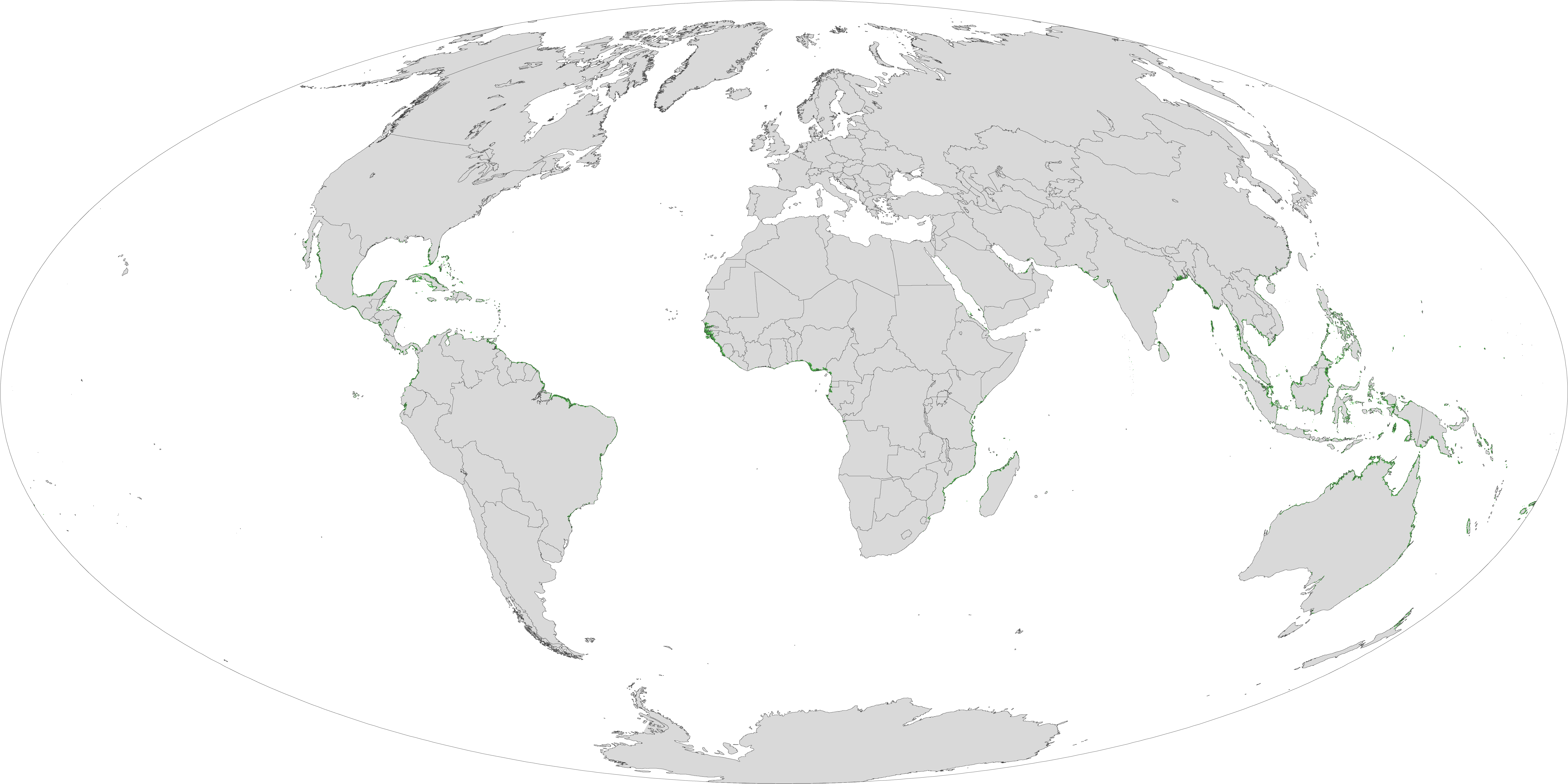 Mapping Mangroves By Satellite Image Of The Day - World satellite earth map