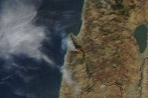 Deadly Forest Fire in Northern Israel
