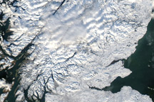 Snow in Great Britain and Ireland