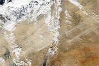 Dust and Violent Weather in the Eastern Mediterranean