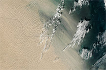 Dust over the Arabian Peninsula