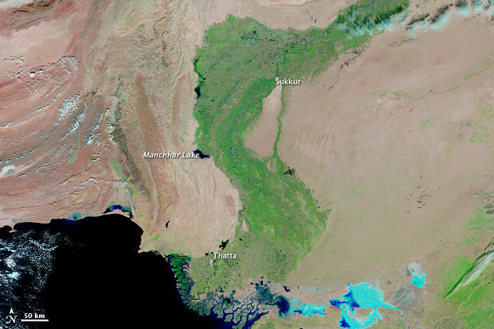 Lingering Floods in Pakistan