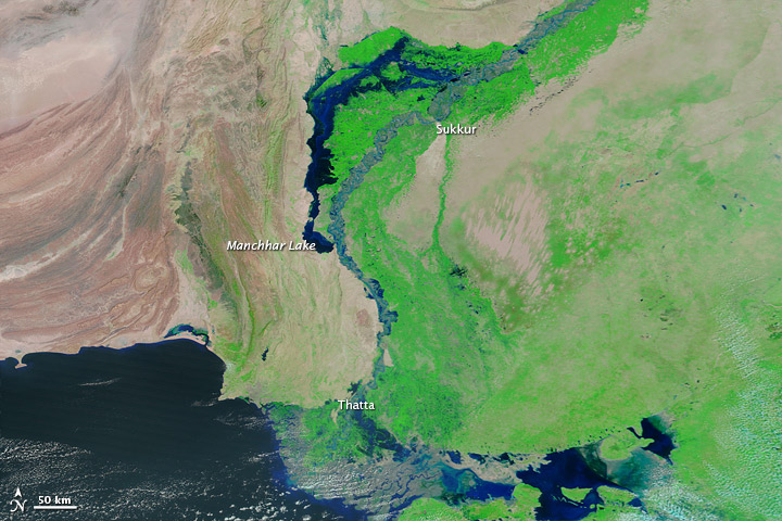 Lingering Floods in Pakistan