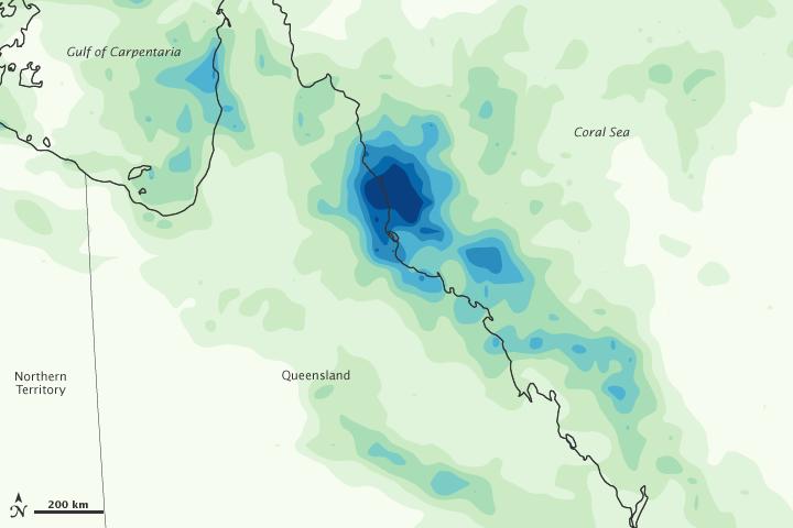 Heavy Rains in Queensland