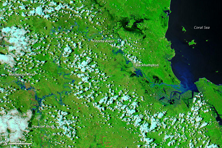Flooding in Queensland