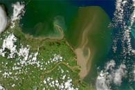 Heavy Sediment along the Queensland Coast