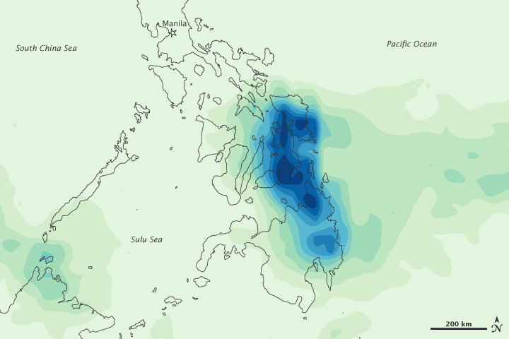 Heavy Rains in the Philippines