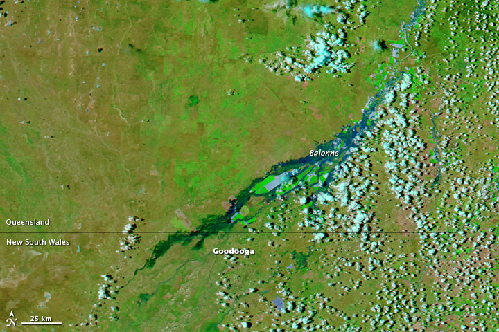 Floods Spread to New South Wales