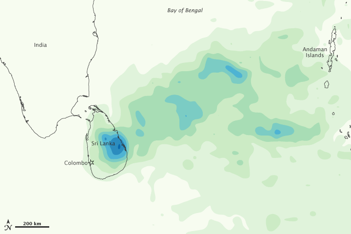 Heavy Rains in Sri Lanka