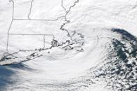 Winter Storm along the U.S. East Coast