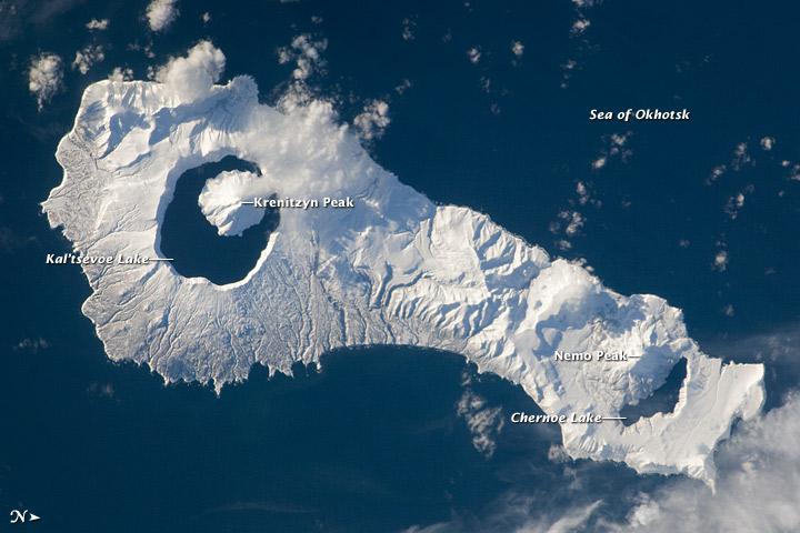 Onekotan Island, Kuril Islands, Russian Federation