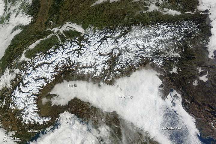 A Clear View of the Alps