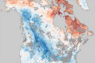 Arctic Oscillation Chills North America, Warms Arctic