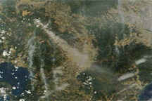 Shinmoe-dake Volcano Erupts on Kyushu
