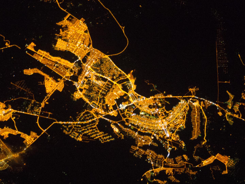 Brasilia City At Night