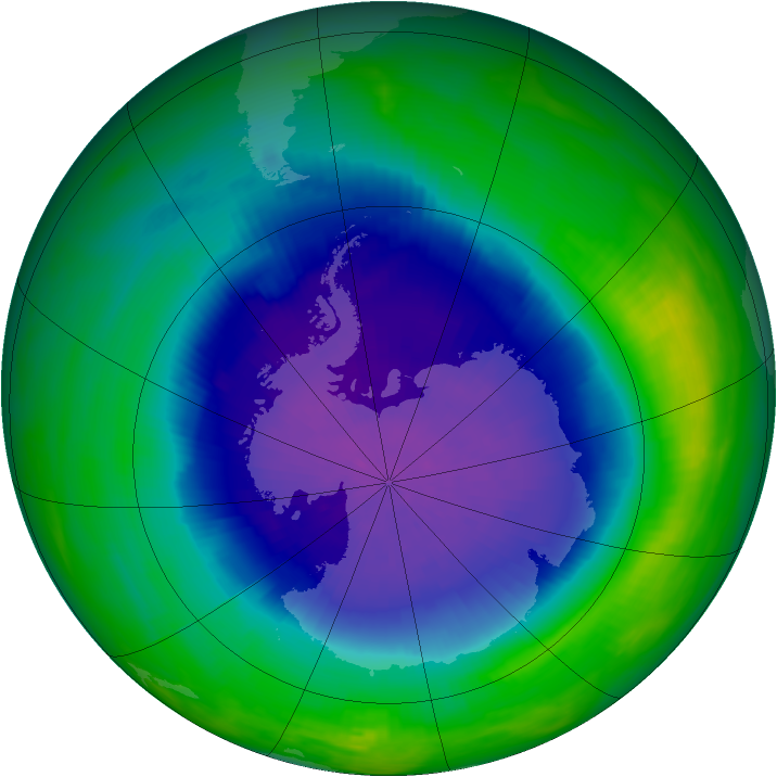 Ozone Hole through the years - related image preview