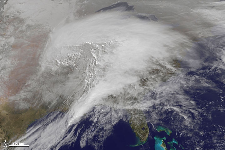Historic Winter Storm Moves Across the U.S.