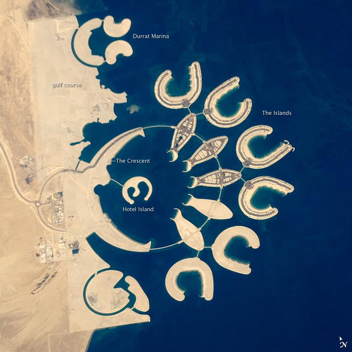 Durrat Al Bahrain, Persian Gulf