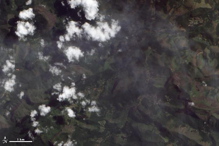 Landslides in Brazil