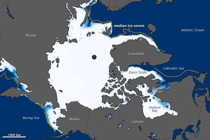 Record Low Arctic Sea Ice Extent for January